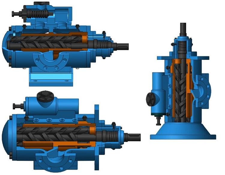 sn螺杆泵结构图 远东售后服务