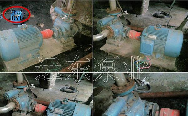 酒精废液泵W5.1ZK-30M1W77不锈钢双螺杆泵雾化燃烧