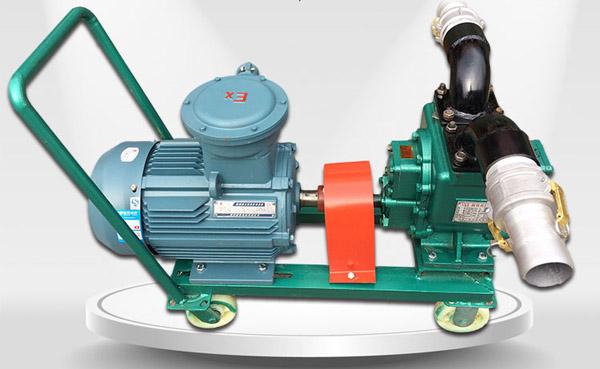 移动式卸油泵解决了用户方便卸油