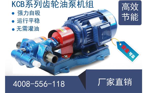 远东KCB齿轮油泵型号及参数表