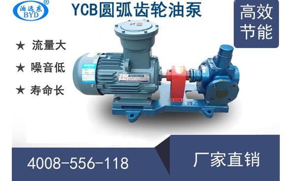 远东YCB圆弧齿轮油泵性能参数表