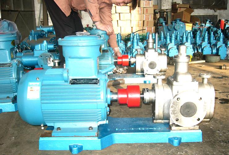详解不锈钢齿轮油泵故障解决方法