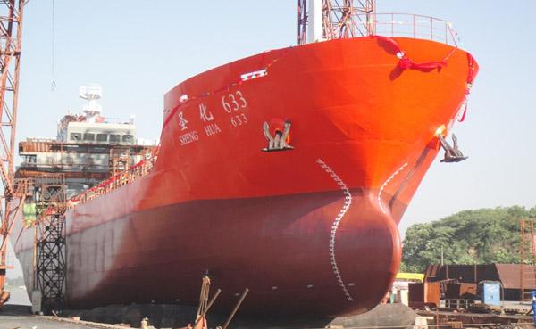 深圳市海昌华油轮货油泵选用远东W8.4ZK-100M1W73双螺杆泵案例