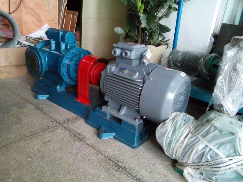 远东3GR100×2W21铜套螺杆泵用于输送重油,燃油