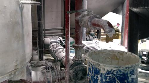 远东高粘度泵在宏华粘胶现场展示