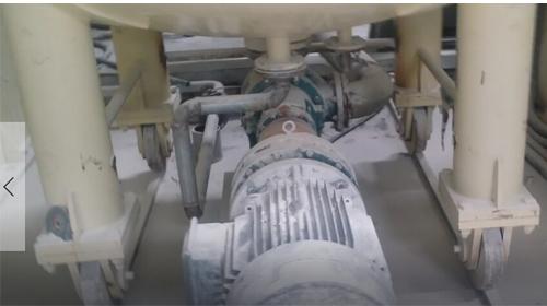 金银河5000L高速分散机配套远东高粘度泵