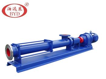 【广州】日化行业沐浴露输送泵,我们力推远东G型单螺杆泵