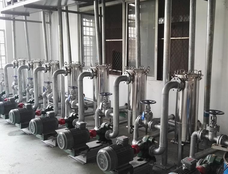 广东港兴石油润滑油输送泵采用远东KCB-300齿轮泵