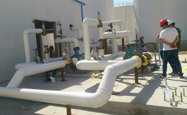 新疆佳宇恒能源科技10万吨/年BS光亮油项目采用远东W7.2ZK-130M1Z2W64A保温双螺杆泵