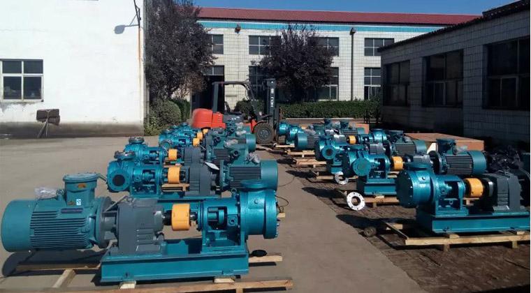 远东泵业又一批大定单保温沥青泵成功交货给用户合同总金额321.78万元