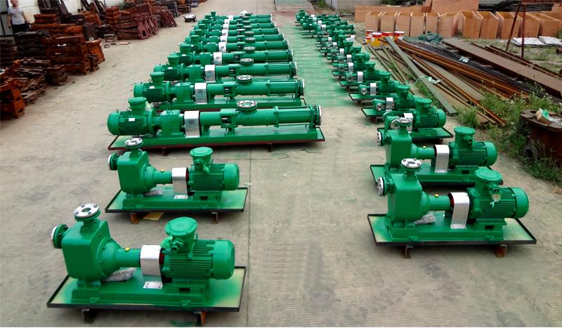 昆仑润滑油添加剂输送泵G型单螺杆泵