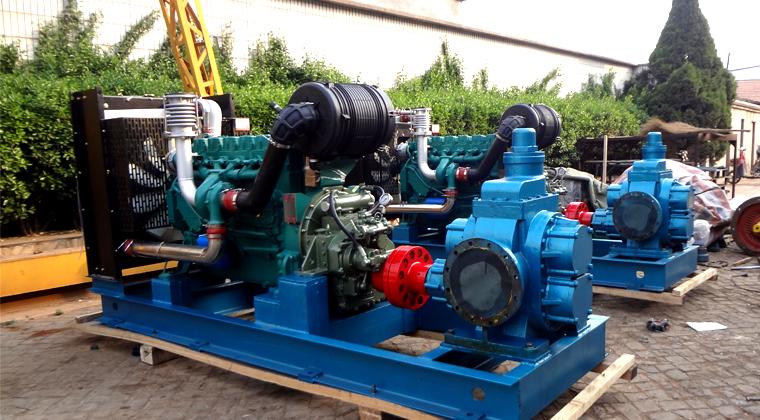 柴油机驱动齿轮油泵解决了应急供油发电系统问题