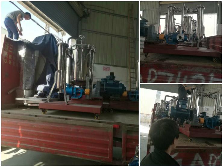 高粘度树脂齿轮泵在过滤树脂中选择及应用