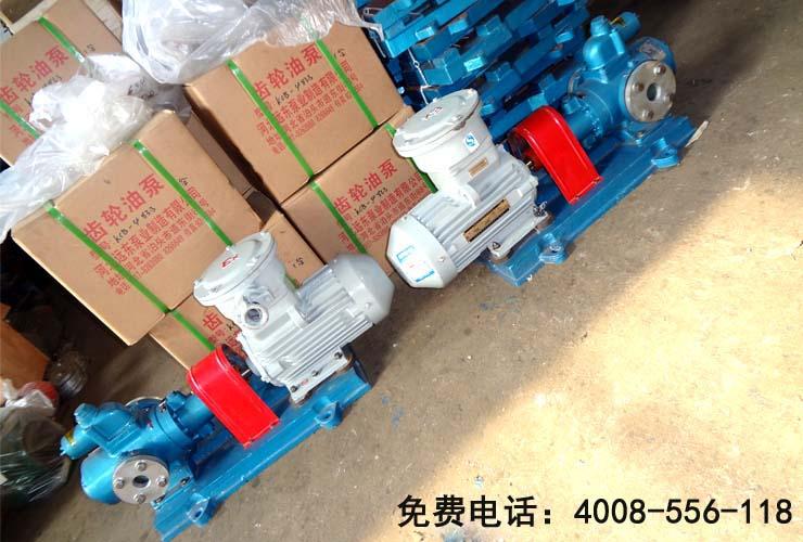 三螺杆润滑油泵SNH210R54U12.1W21顺利交货给用户