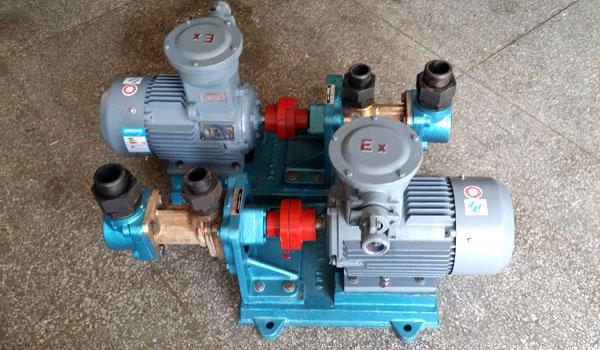锅炉燃油供油泵3GR30*4W21三螺杆泵顺利交货北京热电厂