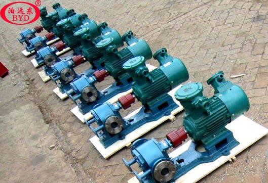 铸钢保温沥青齿轮泵输送松香树脂是理想的选择
