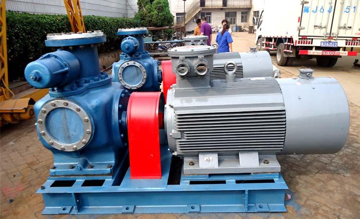 祝贺远东顺利交货用户定制的W8.4ZK-67M1W74双螺杆泵2台