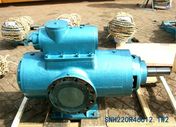 远东为成都某钢铁厂定制的SNH2200R46U12.1W2螺杆泵已发货