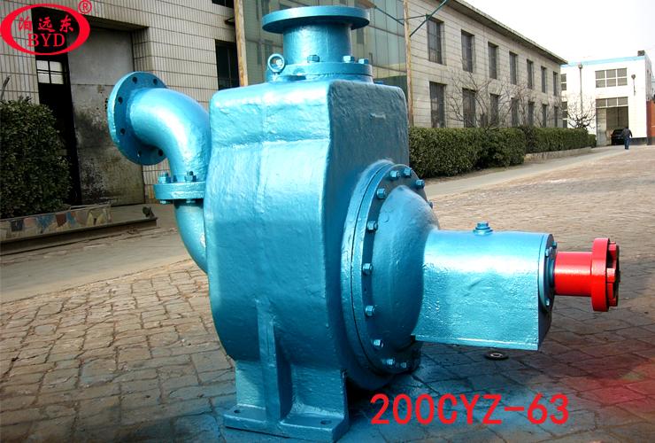 3000吨油船柴油货油泵200CYZ-63自吸式离心油泵
