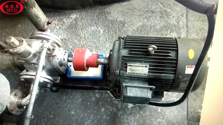 远东泵业YCB-G不锈钢保温齿轮泵输送松香