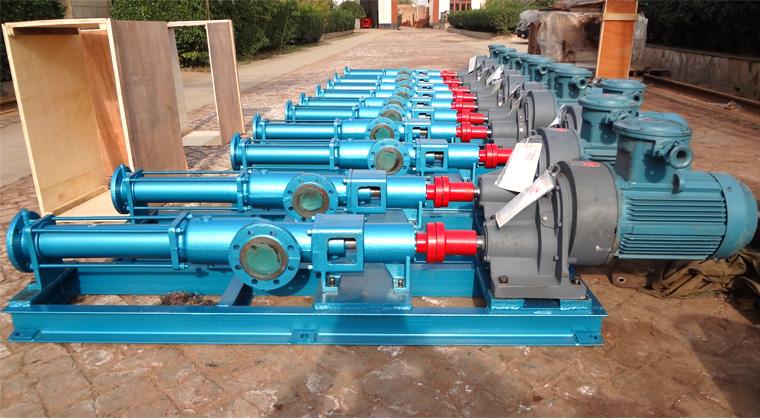 污泥螺杆泵报价及型号选型的重要指标理论