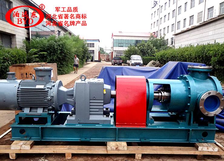 唐山三友硅业高温107胶循环泵NYP1670大流量高粘度泵