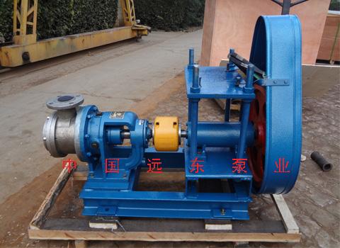 东营防水材料厂橡胶沥青流水线设备配套远东NYP50高粘度沥青泵