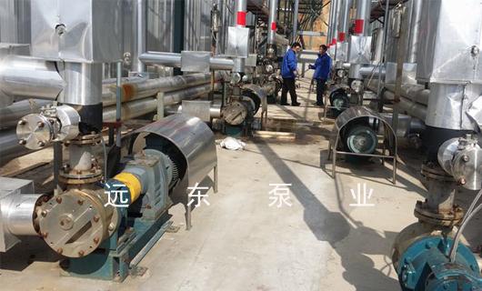 防水材料公司液体沥青输送泵选型方案