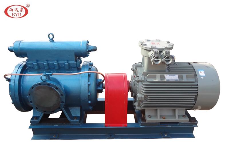 利海船舶防污工程重油输送泵3GS100X2W21螺杆泵