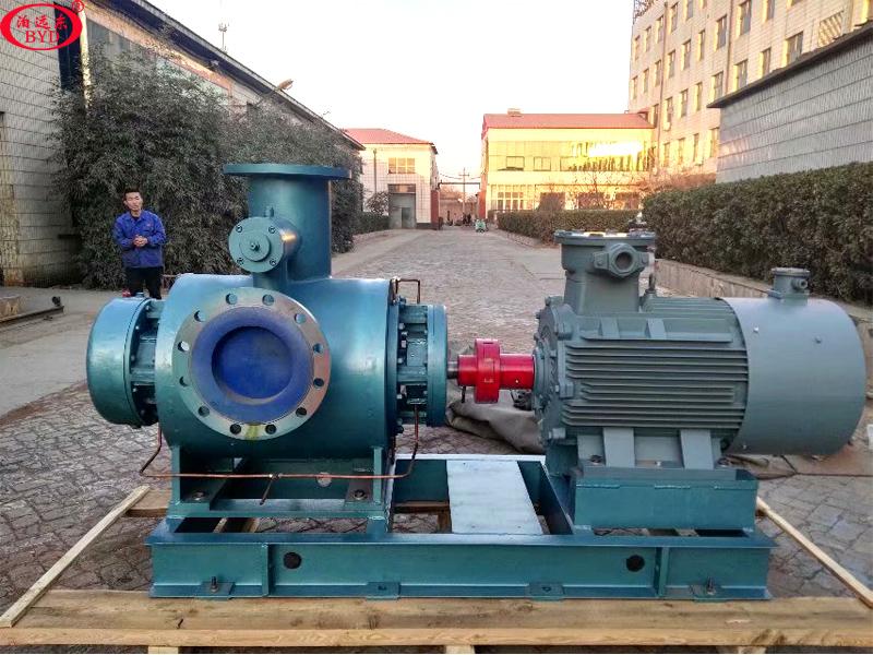 中南汇石化仓储储燃料油卸车泵W7T.2ZK-130M1W73螺杆泵