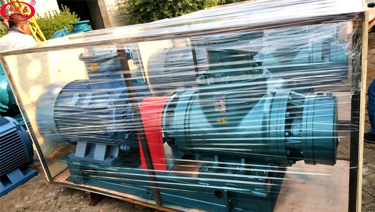 祝贺远东泵为孟加拉用户定制的W7.2ZK-112M1W73双螺杆泵如期交货