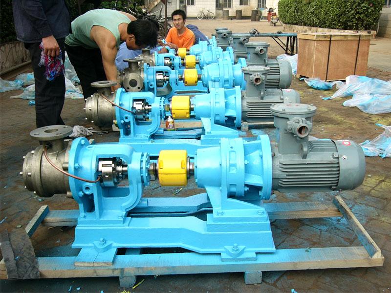 远东为用户定制的NYP50BRUM1W51不锈钢高粘度泵