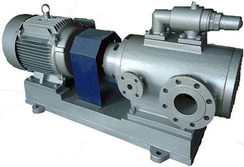 高温三螺杆沥青泵在防水行业输送沥青研发成功