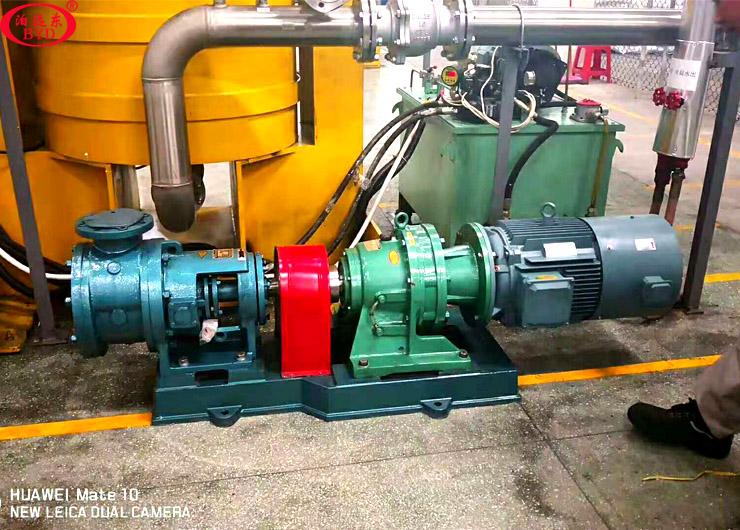 祝贺远东泵业为广东三和化工科技定制的4寸高粘度泵顺利交货