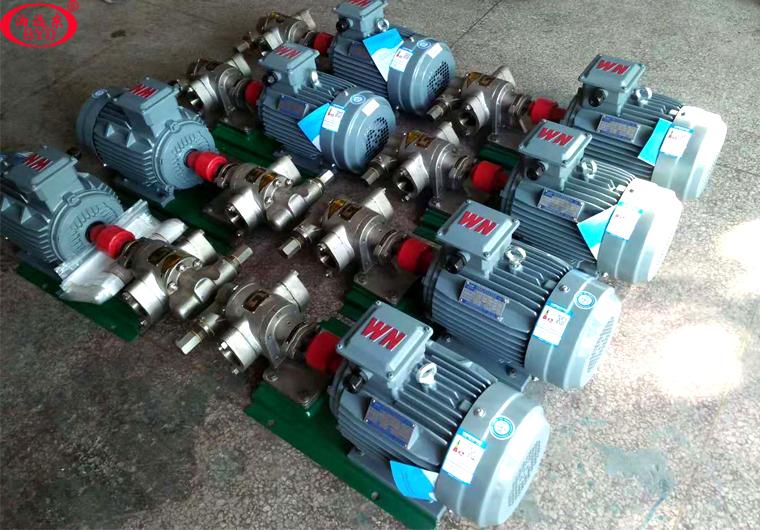 祝贺远东泵业KCB-83.3不锈钢齿轮泵全部交货韶关挖掘机制造厂有限公司