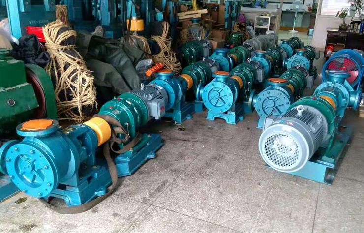 远东高粘度树脂泵及卸车泵25台全部交货给用户