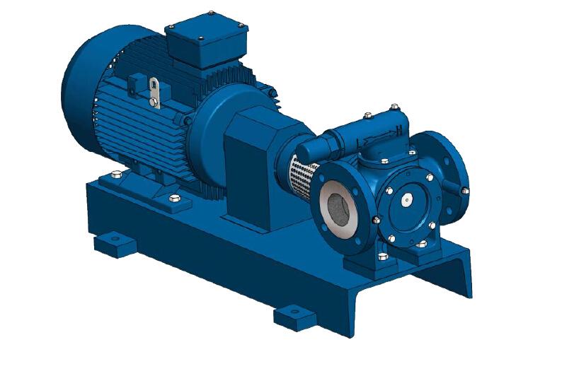 进口高粘度齿轮泵应用-远东泵业