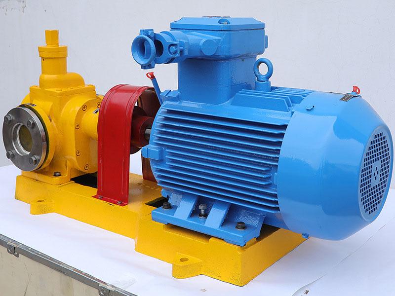 远东泵业为孟加拉用户定制的变压器油泵YCB-30齿轮泵顺利出厂