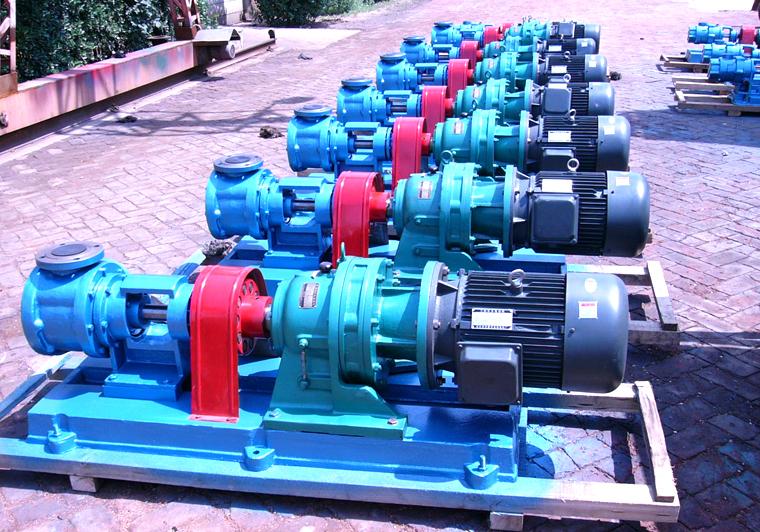 安徽索维机电高粘度酯输送泵采用远东NYP50高粘度泵