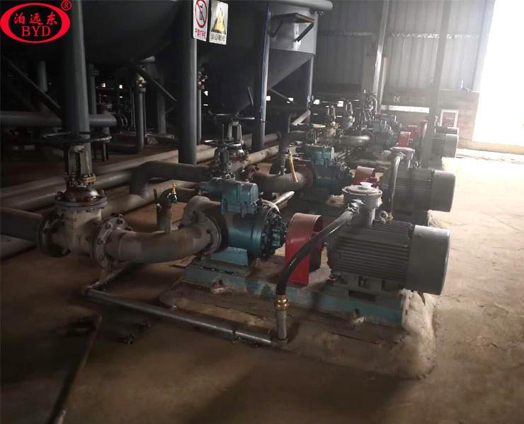 头条祝贺远东为用户定制的3GR100X2W21重油柴油输送泵12台全部验收成功