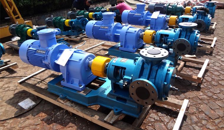 祝贺远东泵业为巴中意科碳素定制的保温螺杆沥青泵成功验收交货