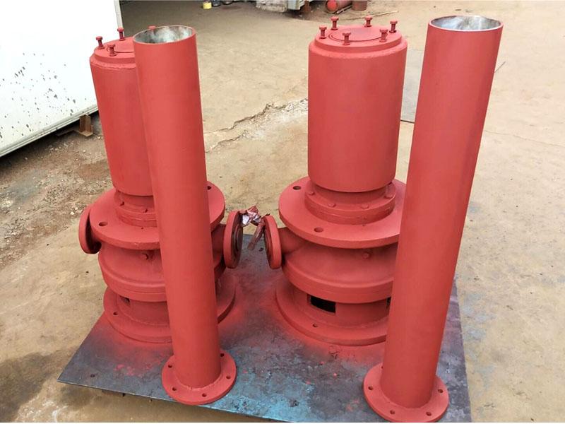 广西福田水电站调速器油泵3GR70×4C螺杆泵顺利交货