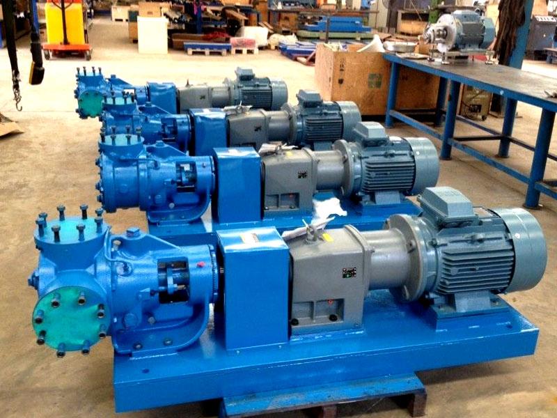 威肯VikingPump沥青泵与国产夹套型沥青齿轮泵比较