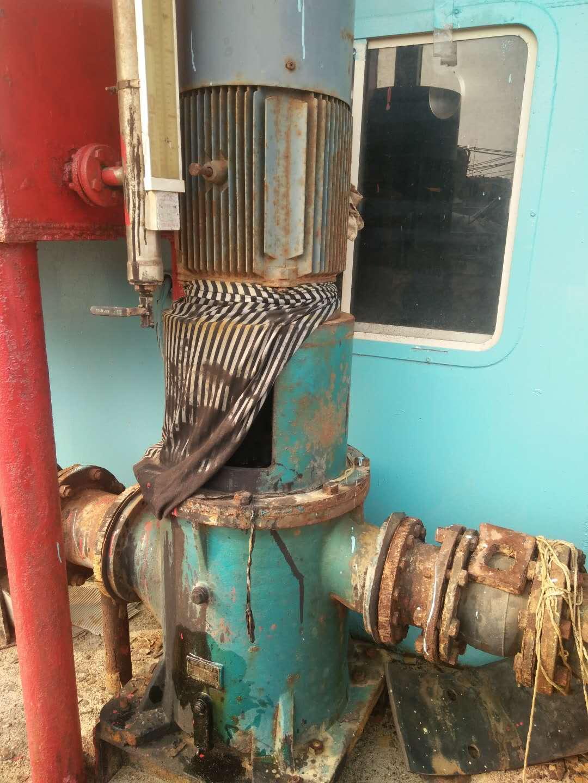 东莞粤668#沙船180重油泵正常运行7年了用户才开始换配件