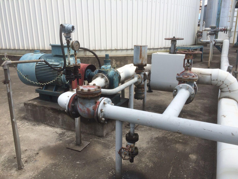 广西北海玉柴马石油高级润滑油输送泵YCB-50/1.6齿轮泵10天正常运行