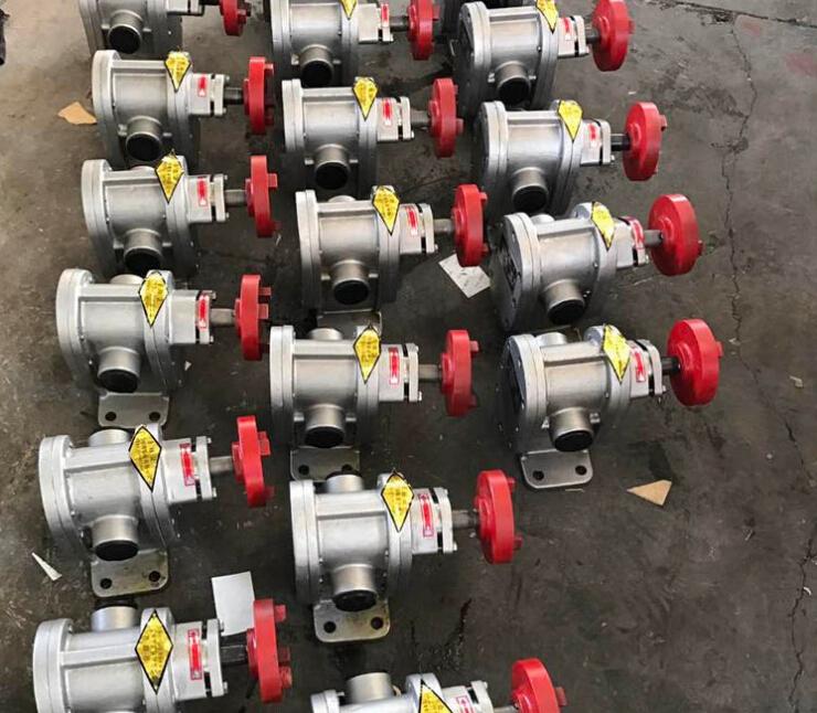 2CY不锈钢齿轮泵输送聚醚多元醇还可以