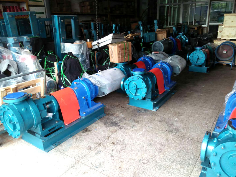 东莞圣堡达二期项目玻璃胶基料泵/107胶泵全部采用远东NYP320B-RU-T2-W11G