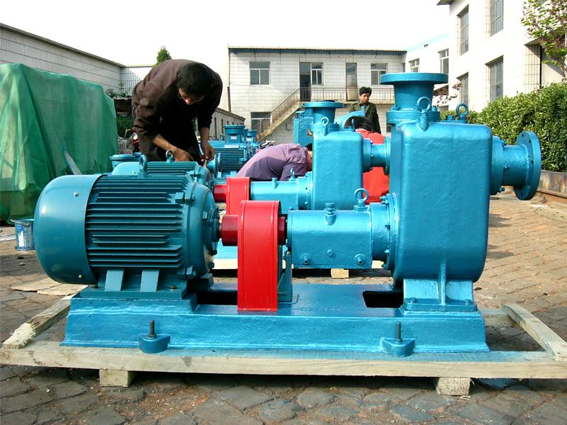 用户定制的柴油装车泵/汽油卸车泵/燃料油装车泵全部采用远东100CYZ-40自吸离心油泵