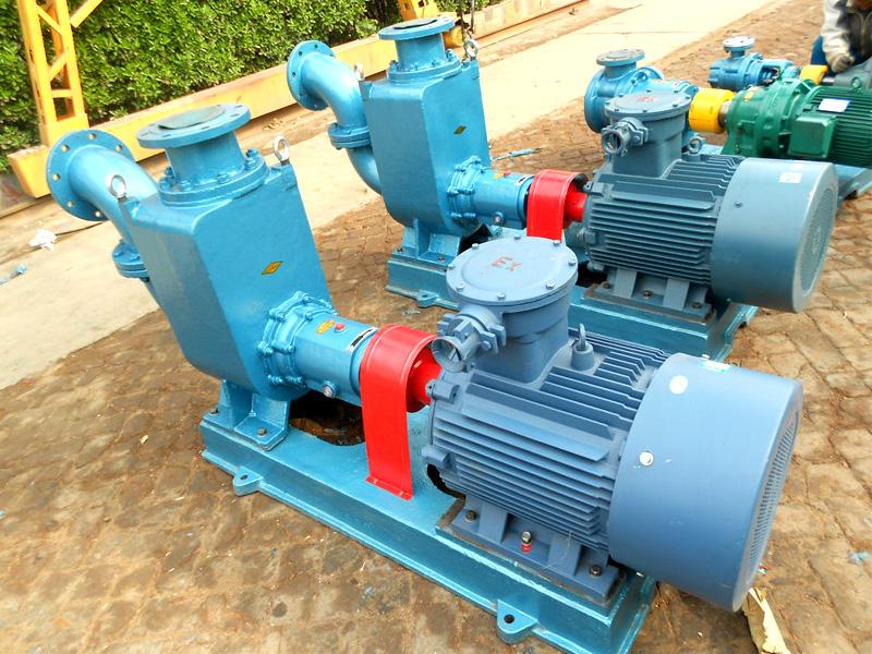 立式卧式自吸式离心油泵150CYZ-65作为柴油汽油卸车泵