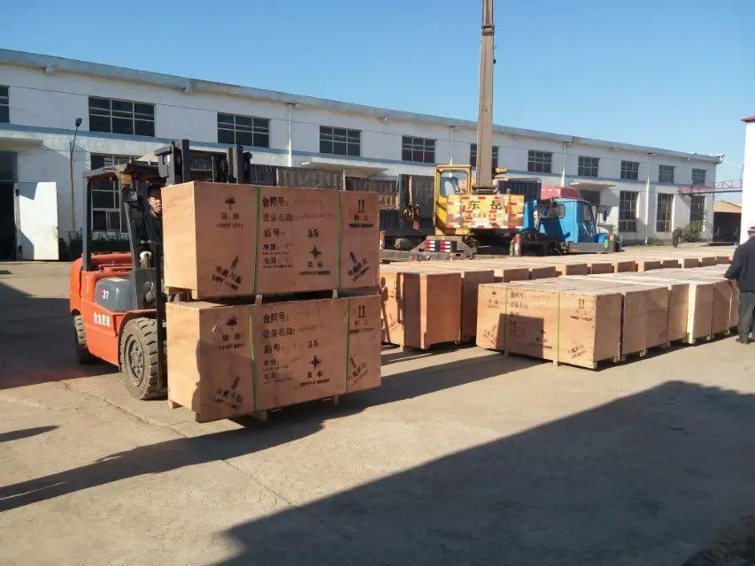 东方雨虹防水沥青混合料泵60台全部交货给用户